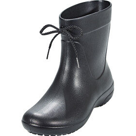 Crocs Freesail Shorty Rain Boots Women Black